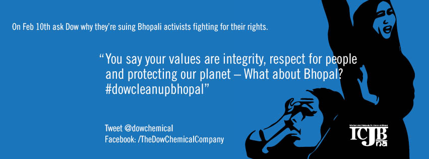 Solidarity with Bhopal Survivors